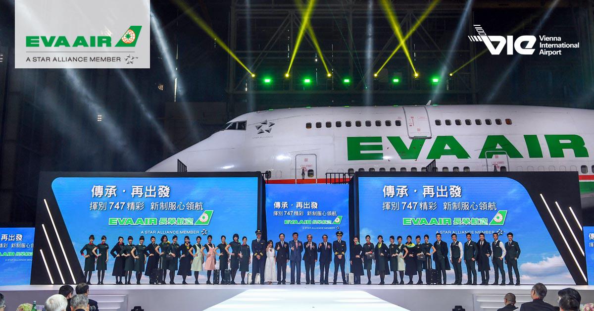 EVA Air sa rozlúčila s lietadlom Boeing 747