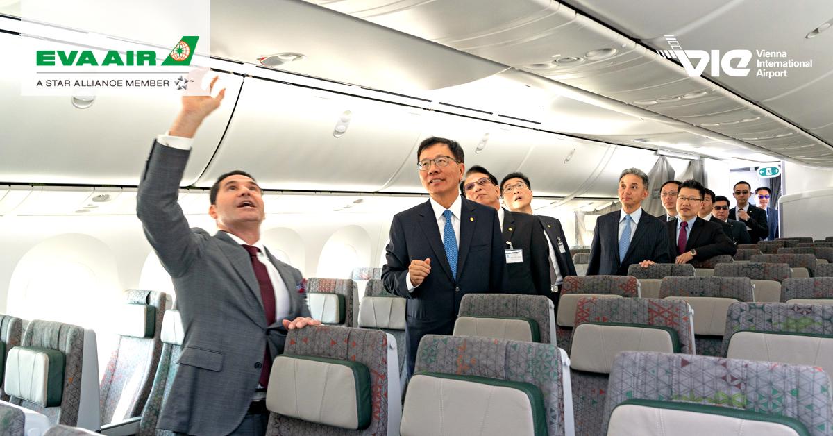 EVA Air akceptuje dodávku svojho prvého Boeingu 787-9 Dreamliner