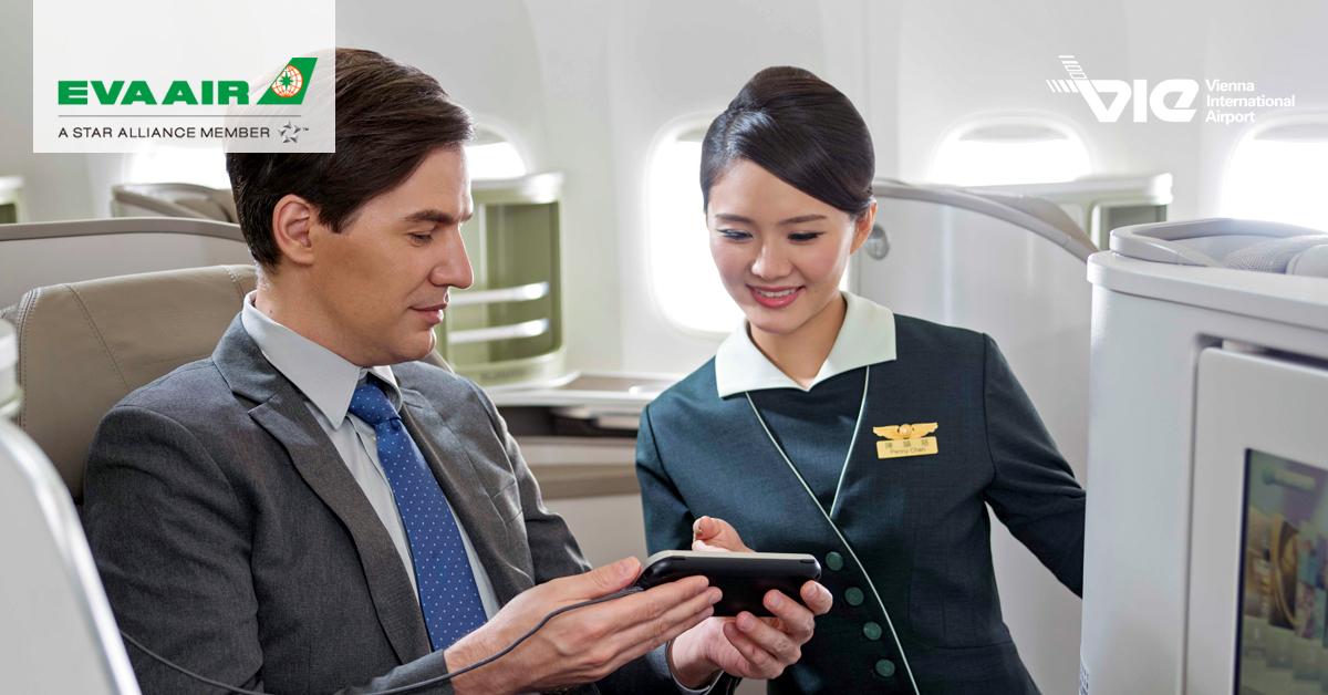 EVA Air zaviedla priamy let medzi Viedňou a Taipei