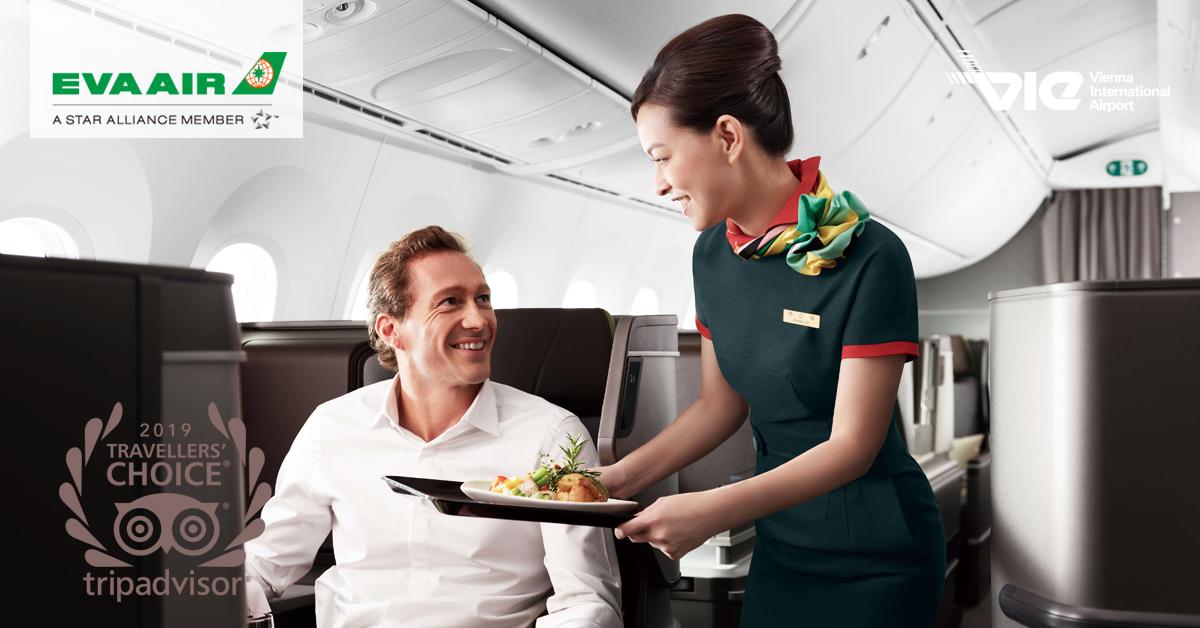 EVA Air zopakovala minuloročnú výhru ocenenia TripAdvisor Travellers´ Choice