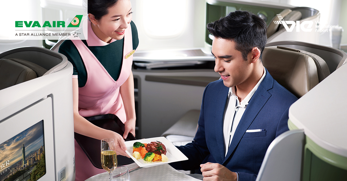 EVA Air bola zvolená za 4. najlepšiu medzinárodnú leteckú spoločnosť na svete