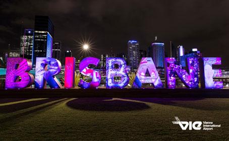 Dvakrát týždenne z Viedne do Brisbane