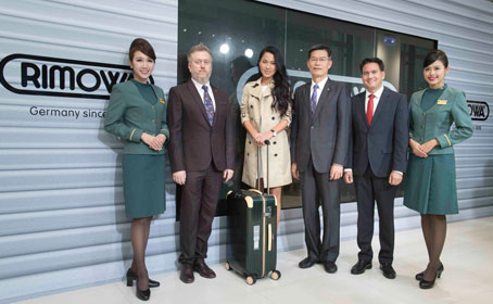 EVA Air a RIMOWA - e-tag check-in