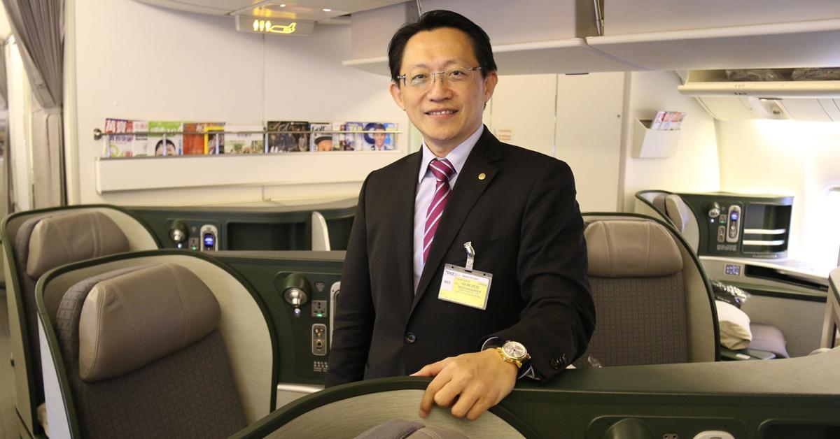 Nový Boeing 777-300ER na trase Viedeň - Bangkok - Taipei