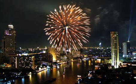 letenky Bangkok Silvester