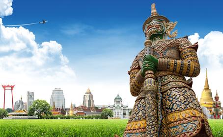 Letné prázdniny v Bangkoku