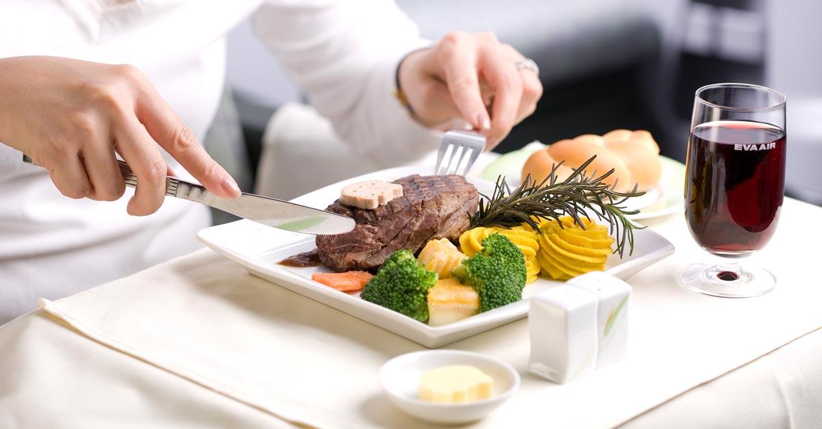Jedlo na palube